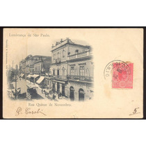 Gaensly E Lindemann - Rua 15 De Novembro - 1901