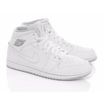 Air Jordan Zapatillas Botitas Cuero Orig Levhe Importados