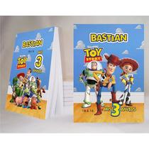 Toy Story Souvenir Anotador Personalizado X32!!!