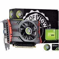 Placa De Video Geforce Nvidia Gtx 650 1gb Gddr5 128 Bits