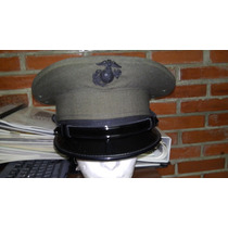 Gorra De Plato Us Marines Guarnición Original