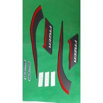 Kit Adesivos Yamanha Fazer 150 Ed Especial 2014 Preta