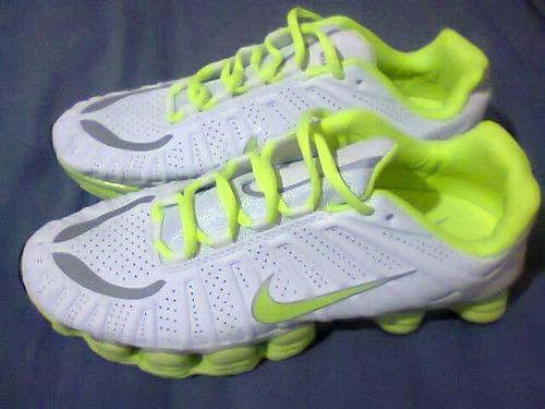 new product ade6d 2fe1d ... reduced tenis nike shox tlx branco e verde n43 original na caixa r  27000 em mercado