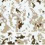 Camuflados - C13 - Pixel Desert - Ancho 1m