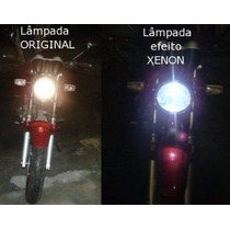 Lançamento Lâmpada Efeito Xenon Azul 55/60w Cb300 Xre Cb500