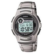 Reloj Casio W213 Metal 5 Alarmas Despertador Luz Cronometro