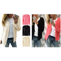 Cardigan Jacket Lana Warn Coat Sweater Jumper Outwear Short