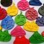 Crayones - Souvenirs - Angry Birds - Cumpleaños - Pack X 24