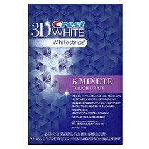 Crest 3d Manchas Escudo Blanco 5 Minuto Touch-ups Teeth Whit