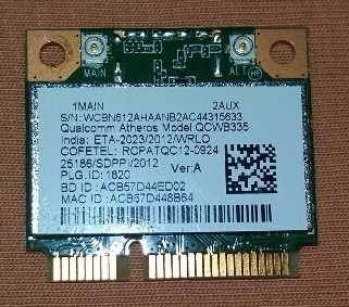 ACER ASPIRE ES1-511 ATHEROS WLAN DRIVER PC
