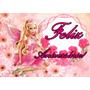 Barbie Papel De Arroz A4.frete R$ 10,80 Todo Brasil.