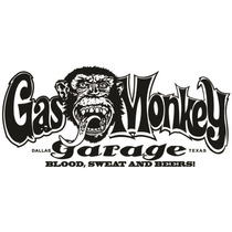 Adesivo - Gas Monkey Garage Dallas Texas