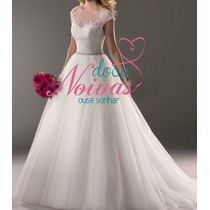 Vestido Noiva Maravilhoso Scheila Novo Pronta Entrega