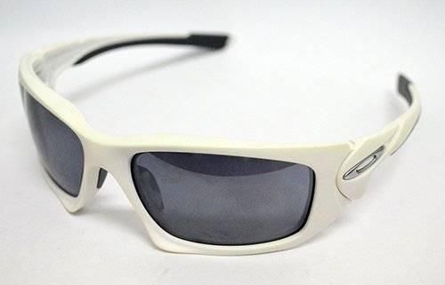fbeb39f41bd92 Óculos De Sol Oakley Scalpel Oo9095 03 Médio Acetato Branco - R  436 ...