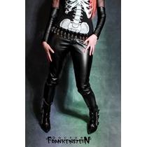 Pantalón Vinipiel Unisex Ropa Gotica Rocker Glam Monterrey