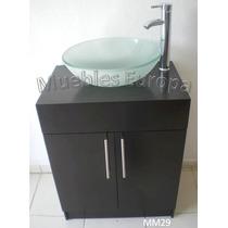 Mueble Gabinete Baño Con Ovalin (lavabo) Envio Gratis