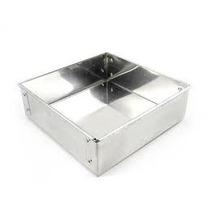 Forma Quadrada Para Bolo 25x6cm Em Aluminio