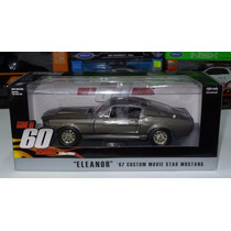 1:24 Ford Mustang 1967 Eleanor Greenlight 60 Segundos Shelby