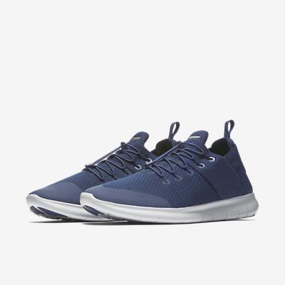 56ef815733 Tênis Nike Free Rn Commuter 2017 Azul Original - Netfut - R  449