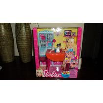 Barbie Set De Comedor