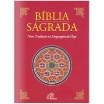 Bíblia Sagrada Católica Média Nova Trad Na Linguagem De Hoje