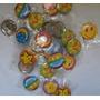 Chapas De Caritas Feliz,piñatas, Cotillon,colegio.