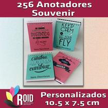 256 Souvenir Libreta Anotador Personalizada Elegí Tu Diseño!