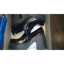 Zapatos Plataforma Viento Y Marea Talle 9 , 1 Sola Postura