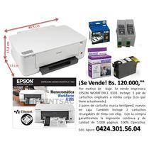 Impresora Epson K101, Imprime Sólo En Negro. 100% Operativa.