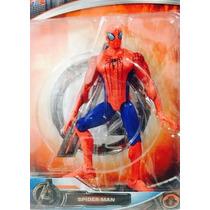 Boneco Homem Aranha Spider Man Avengers 2 Articulado Ótimo