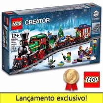 Lego Trem De Inverno De Natal 10254 - Winter Holiday Train