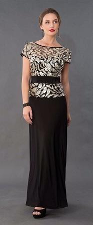 Vestido negro mama de la novia