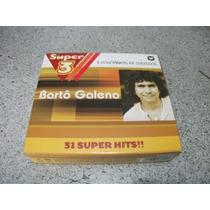 Cd - Barto Galeno 31 Super Hits Box Com 3 Cds