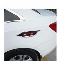 Adesivo 3d Carro Automotivo Monstro Escondido