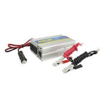 Inversor De Corriente Dc-ac Cables Tipo Caimán 300w Surtek I