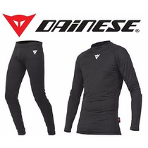 Roupa Térmica Conjunto Segunda Pele Dainese (calça + Camisa)