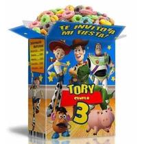 Mega Kit Imprimible Toy Story Textos 100% Editables 2x1