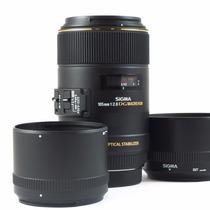 Lente Sigma 105 Mm 2.8 Ex Dg Macro Os Nikon (ver Promo -15%)