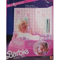 Juguete Barbie Pink Sparkles Belleza Del Baño De Ducha