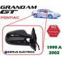 99-02 Pontiac Grand Am Gt Espejo Lateral Electrico Derecho