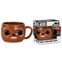 Funko Pop Taza Ceramica Chewbacca Chewie Star Wars Home Mug