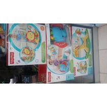 Fisher Price Caminador Leon Montable Elefante Y Jirafa