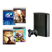Consola Ps3 Sony 500gb Tlou-gow-gt6-lbp3