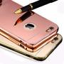 Case Bumper Aluminio Espejo Iphone 4s 5c 5s 6 6s Plus + Pen