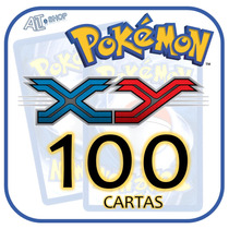 Lote 100 Cartas Pokémon X Y (sem Repetição!)