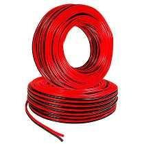 Cable Para Bocina, 22 Awg, Bicolor, 100 M