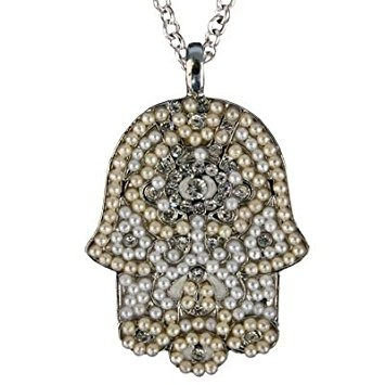 Hamsa hand pendant necklace for women yair emanuel large h hamsa hand pendant necklace for women yair emanuel large h 181702 en mercado libre aloadofball Image collections