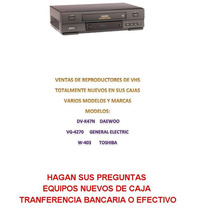 Reproductor Vhs Toshiba W-403