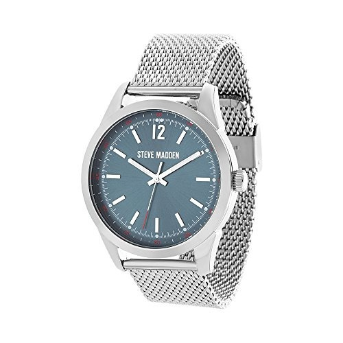 f30ab57dd8f Steve Madden Mens Quartz Metal And Alloy Casual Watch