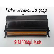 Cabeça De Impressão S4m 300dpi Zebra Usada